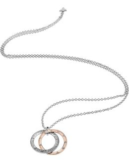 E-motions Necklace With Rose Gold Plated Circle