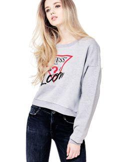 Sweatshirt With Front Logo