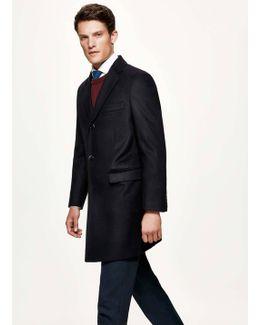 Plain Wool Cashmere Jacket