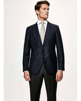 Mayfair Slim Fit Wool Jacket