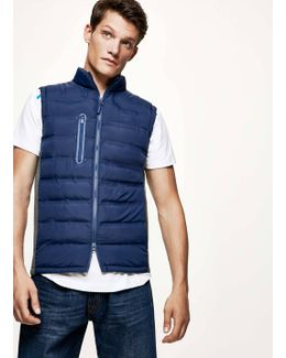 Panelled Gilet