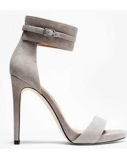 Ellen Suede High Heel Sandal