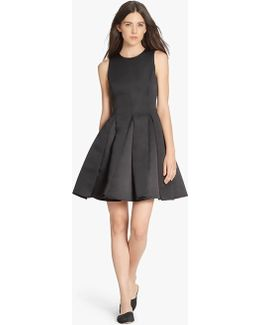 Satin Faille Structured Dress