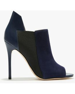 Madison Leather Suede Pumps
