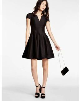 Structured Faille Dress