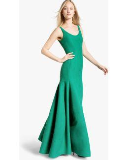 Tulip Cotton Faille Gown