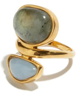 Valley Ring In Labradorite