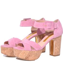 Haitana Sandal In Bubble Gum