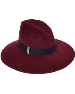 Drake Hat In Bordeaux
