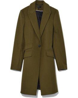 Duchess Coat In Olive