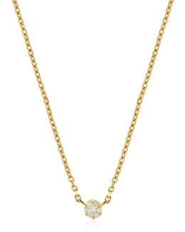 Diamond Illusion Chain Necklace