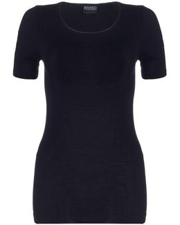 Cotton Seamless Short Sleeve Top