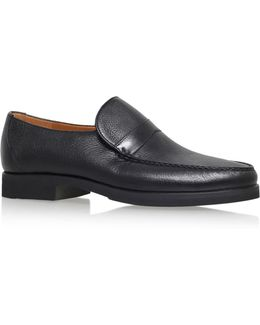 Leather Wide Fit Loafer