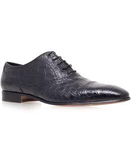 Crocodile Oxford Shoe