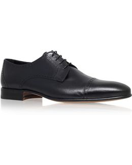 Toe Cap Leather Derby