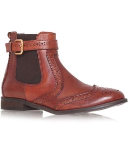 Slow Leather Ankle Boot
