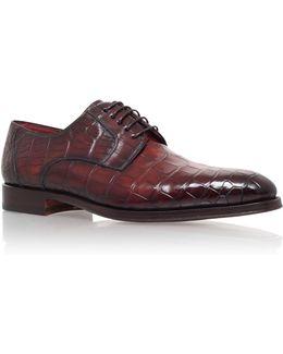 Alligator Derby Shoe