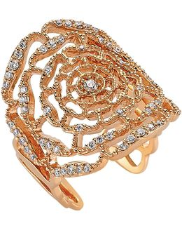 Rosa Mundi Diamond Ring