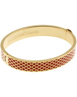 Gold Salamander Bangle