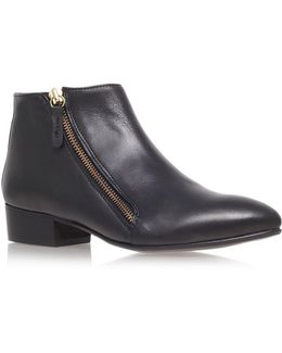 Sally Leather Ankle Boot