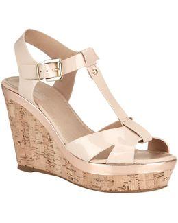 Kabby Wedge Sandal