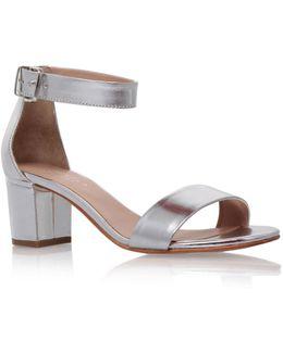 Krisp Metallic Sandal
