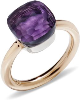 Nudo Amethyst Classic Ring