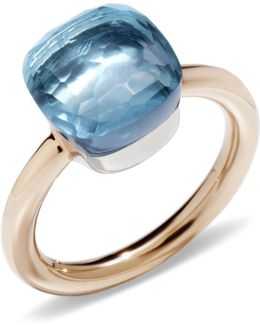 Nudo Blue Topaz Classic Ring