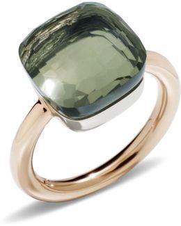 Nudo Prasiolite Maxi Ring