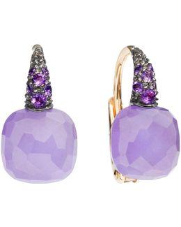 Jade Rose Gold Capri Earrings
