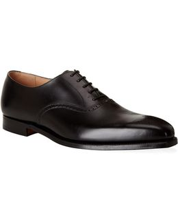 Edgeware Punched Leather Oxford Shoes