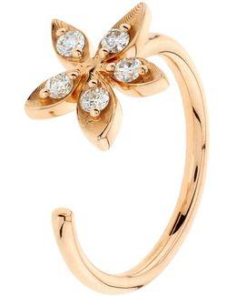 Apple Seed Diamond Midi Ring