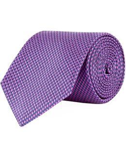 Puppy Tooth Silk Tie