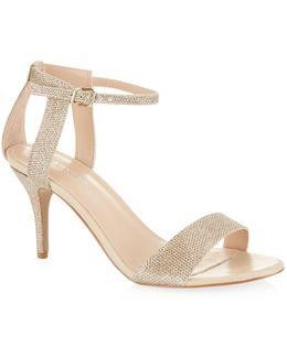 Metallic Kollude Sandal