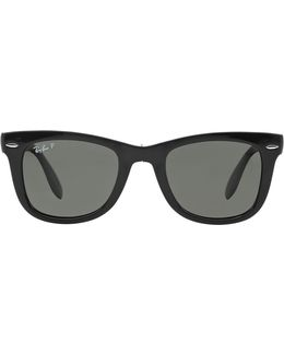 Classic Folding Wayfarer Sunglasses
