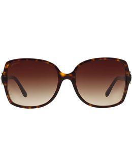 Floral Square Sunglasses