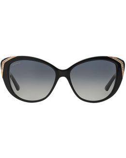 Mvsa Cat Eye Sunglasses