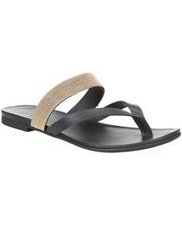 Mae Leather Sandal