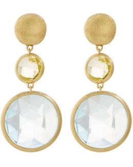 Jaipur Gem Drop Earrings