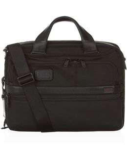 Alpha 2 Small Laptop Expandable Briefcase