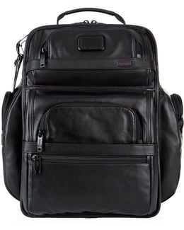 Alpha 2 T-pass® Business Class Leather Backpack