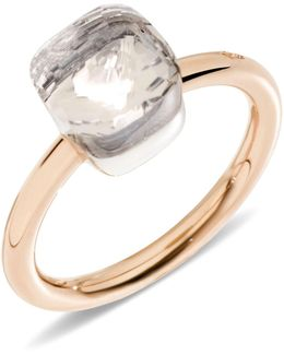 Nudo White Topaz Mini Ring