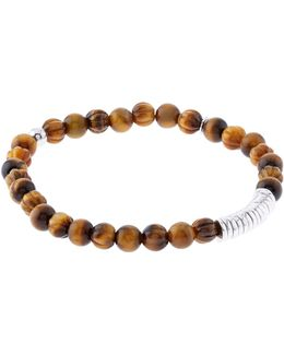 Bamboo Tiger Eye Bracelet