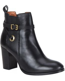 Stacey Leather Ankle Boots