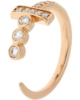 Sword Diamond Ring