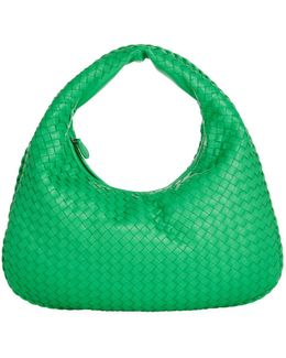 Small Intrecciato Veneta Hobo Bag