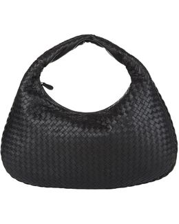 Medium Intrecciato Veneta Hobo Bag