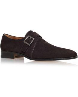 Single Buckle Monk Shoe