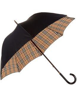 Heritage Check-lined Walking Umbrella
