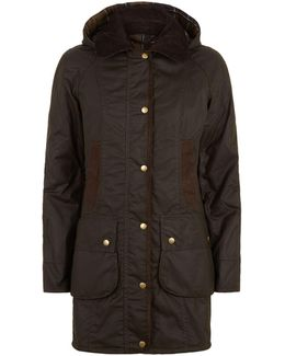 Bower Wax Hooded Jacket